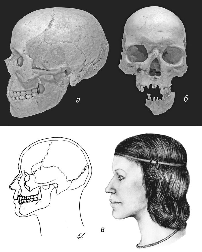 Женщина античной эпохи из Лобановой щели
