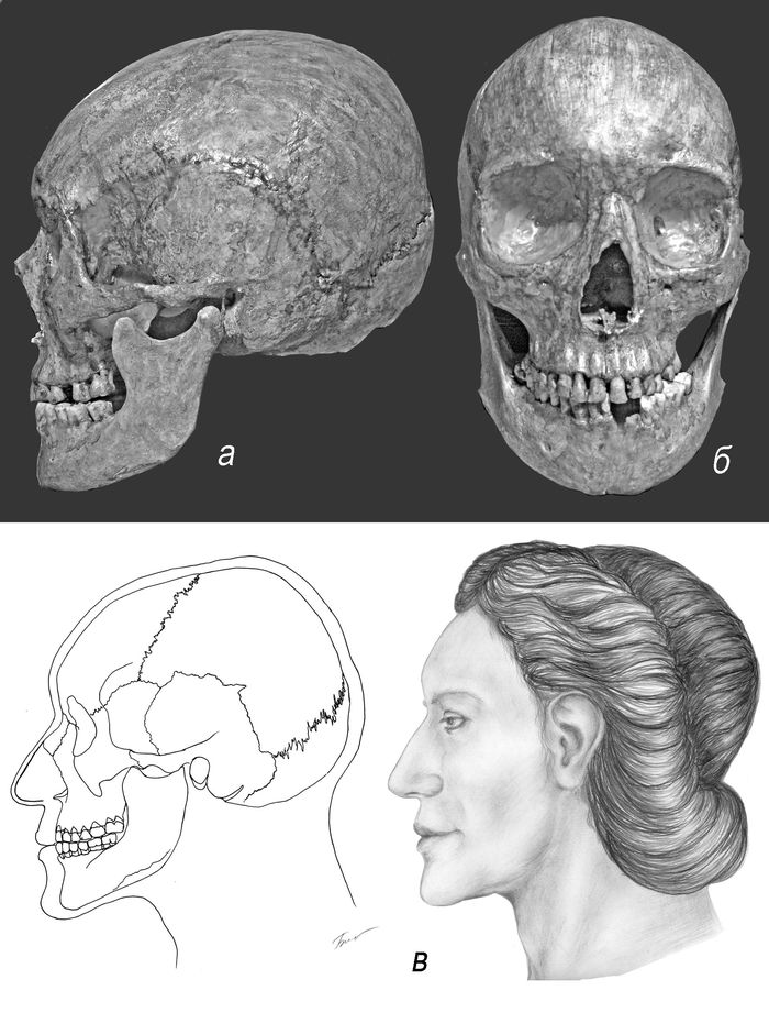 Женщина античной эпохи из Мысхако