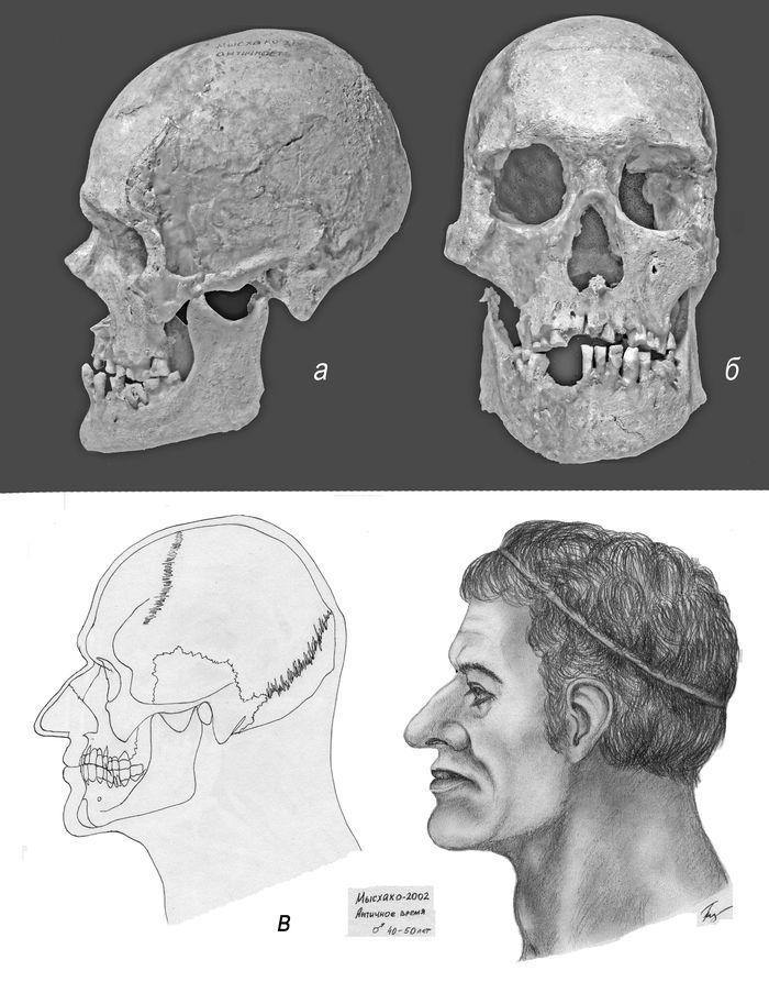 Мужчина античной эпохи из Мысхако