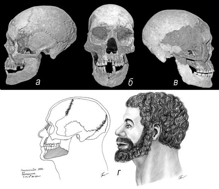 Мужчина античной эпохи из Цемесской долины